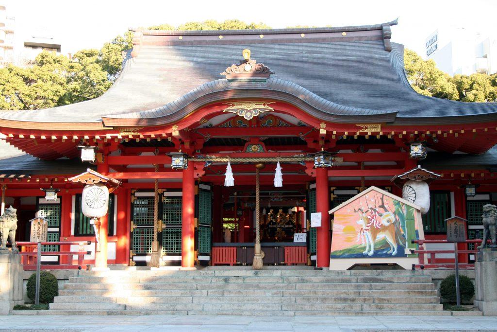 ikuta_shrine_honden