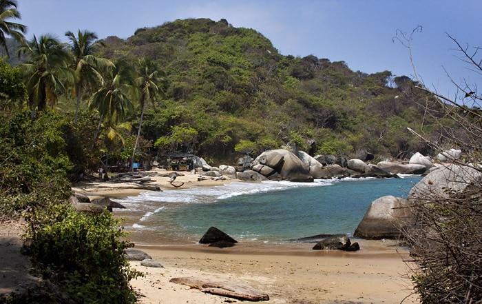 Tayrona Park beach